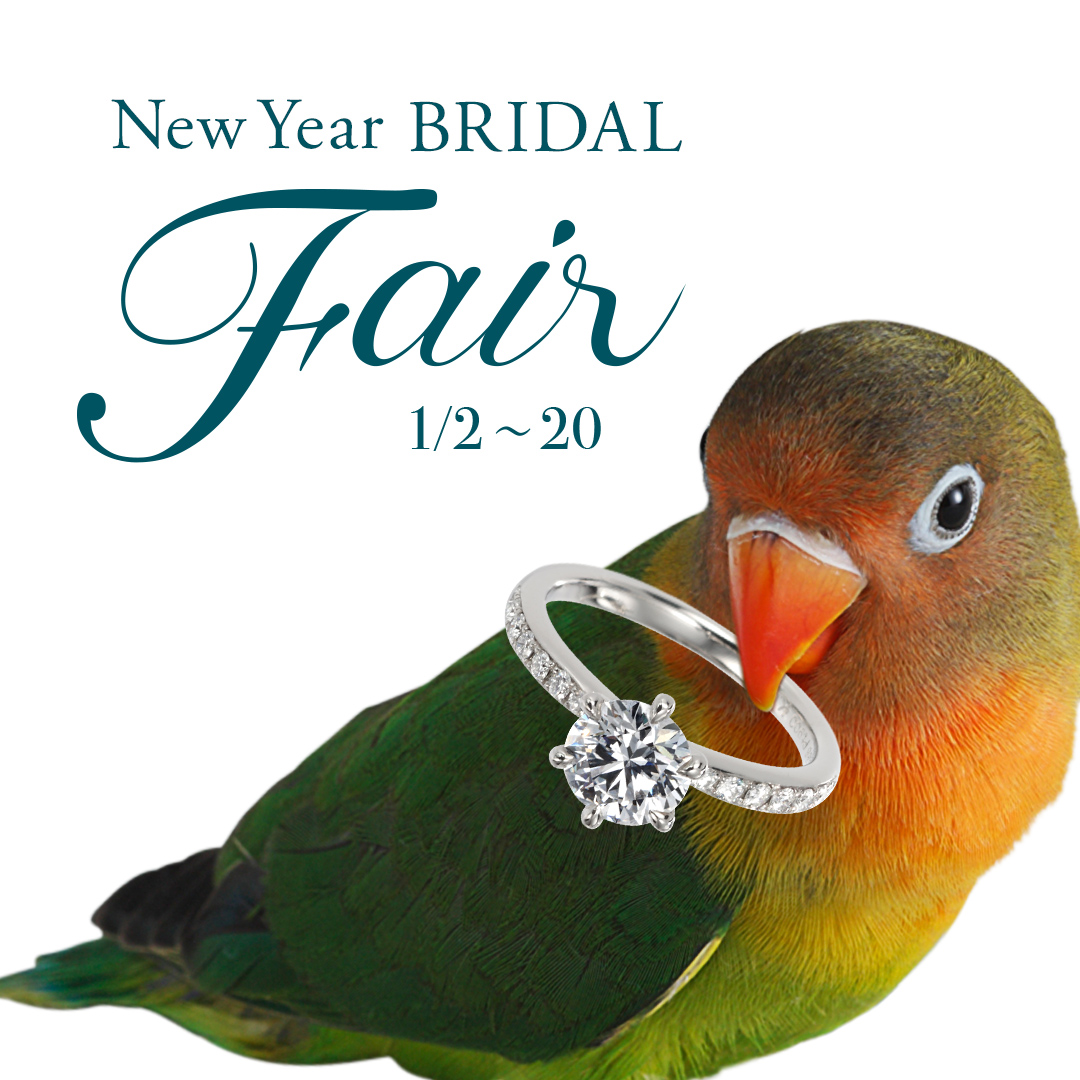 New Year Bridal Fairを開催します