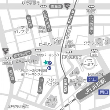 浜松店の道案内