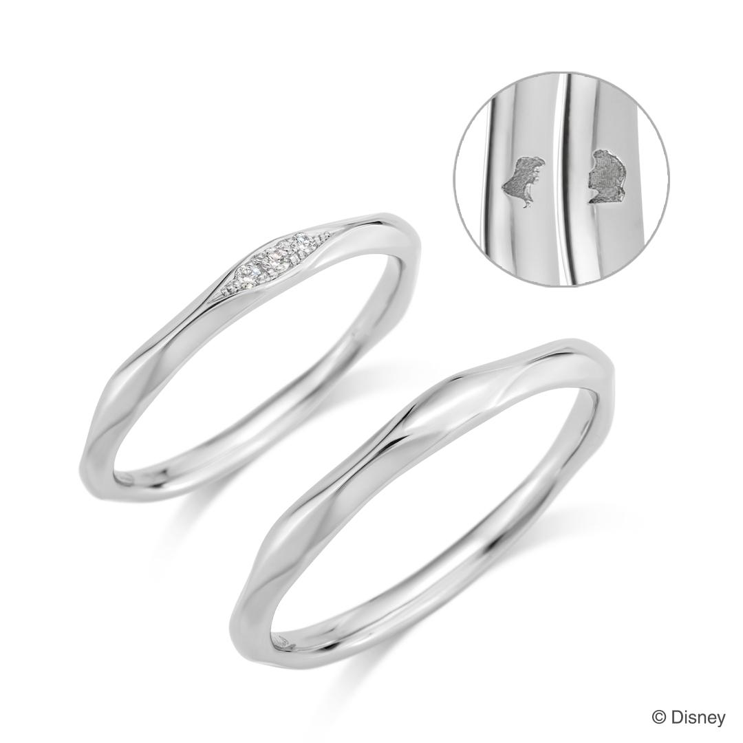 リトル・マーメイド新作結婚指輪