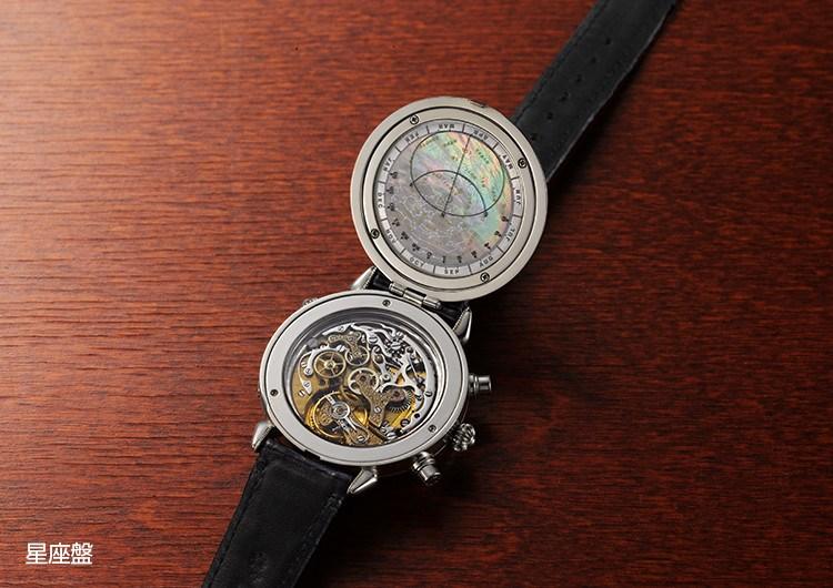 3bec46ca6a ケイウノの時計 作りはある職人の想いから始まりました。子どもの名前、誕生石。カレンダーに温湿度計、星座盤にいたっては星座の名前ひとつひとつまで刻まれています。