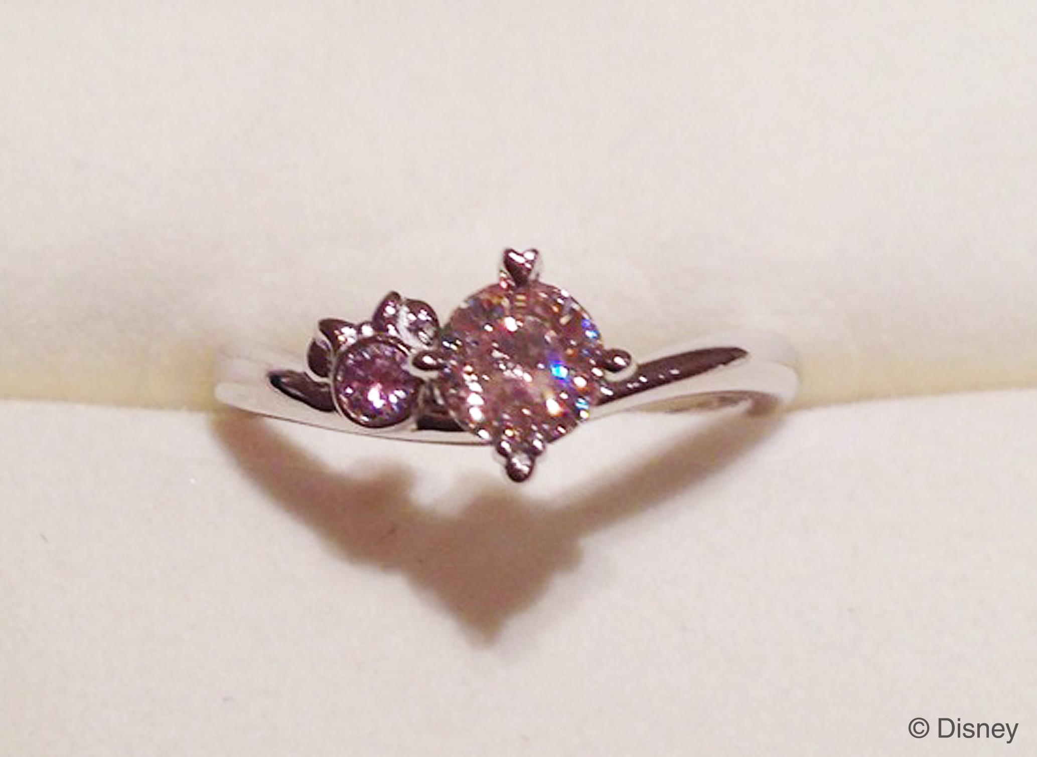 ディズニー婚約指輪