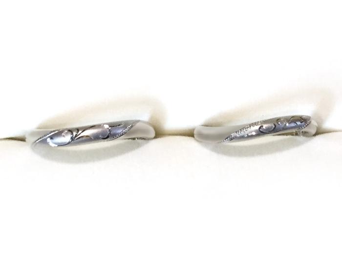 DIY手作り結婚指輪