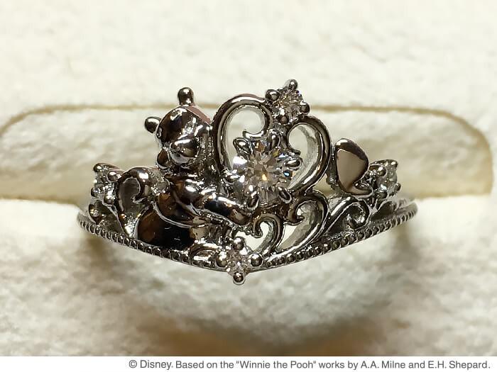 くまのプーさん婚約指輪1