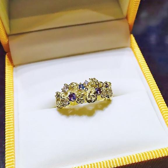 オーダーメイド指輪1