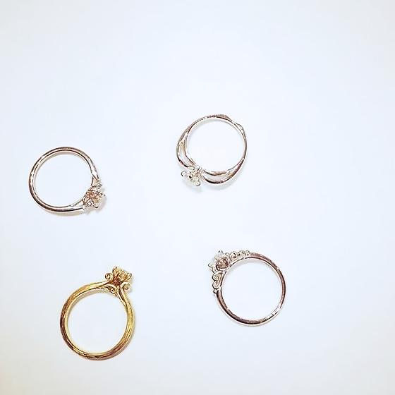婚約指輪_側面