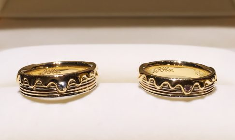 結婚指輪_お菓子