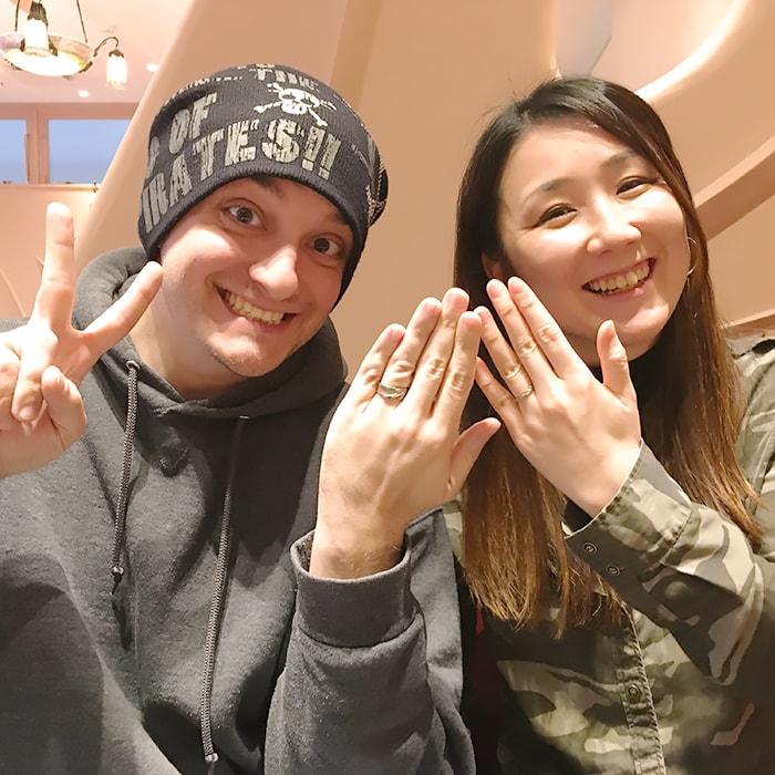 結婚指輪オーダーおふたり-2-min
