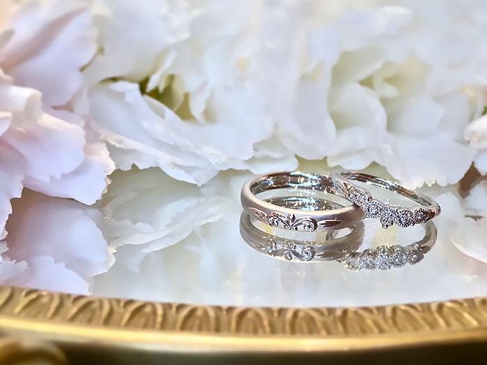 結婚指輪ポッローネ1