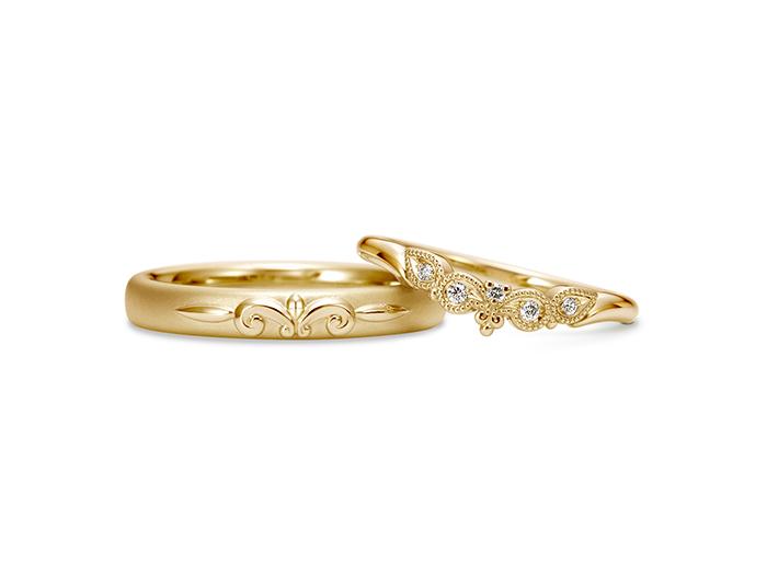 結婚指輪ポッローネ2