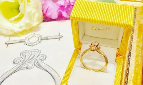 婚約指輪ノヴェッロm