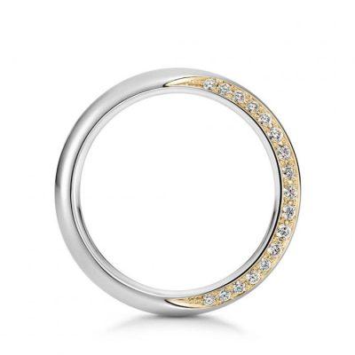 結婚指輪クレッセント2