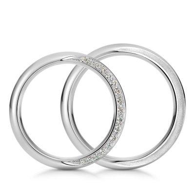 結婚指輪クレッセント1