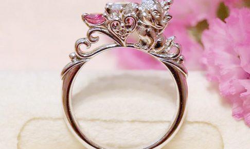 マリー婚約指輪m