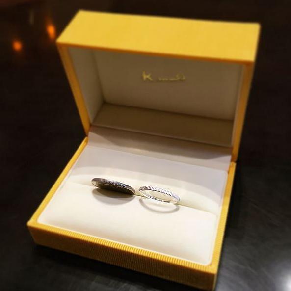 結婚指輪_ギザギザ