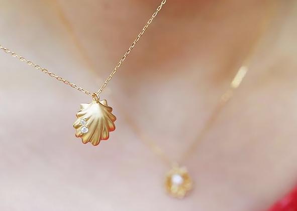 貝殻ネックレス5
