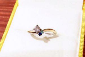 婚約指輪バチャーレアレンジm