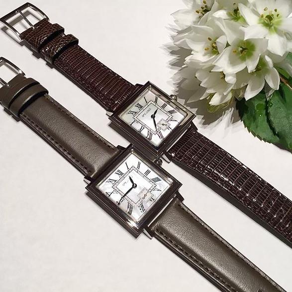 四角 腕時計1