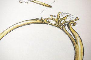 オーダーメイド婚約指輪2