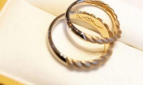 オーダーメイド結婚指輪_しめ縄2