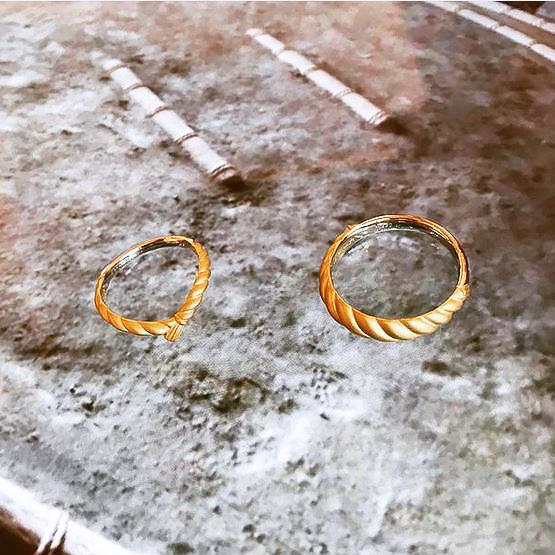 オーダーメイド結婚指輪_しめ縄1