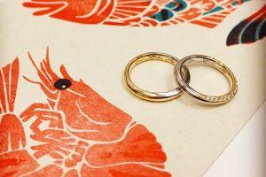 結婚指輪アレンジ2