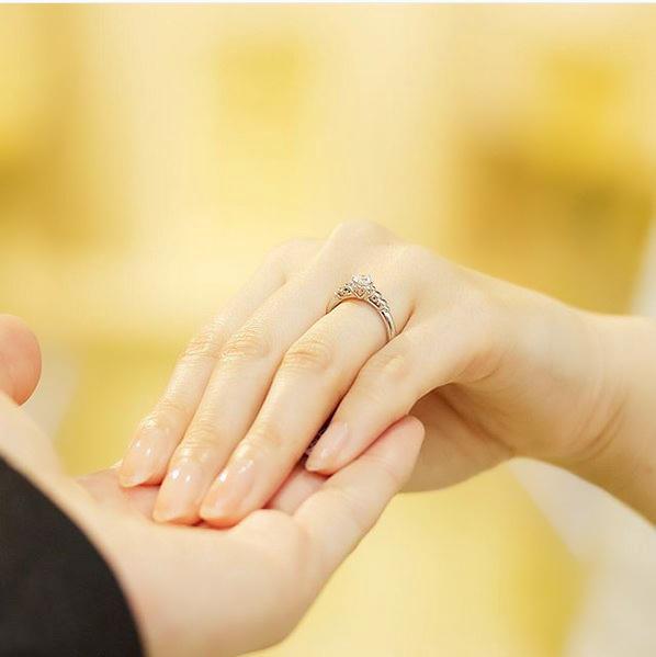 婚約指輪プレーチェ4