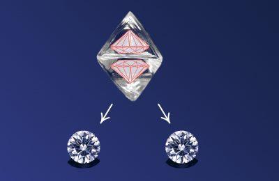 トゥーアズワンダイヤモンド