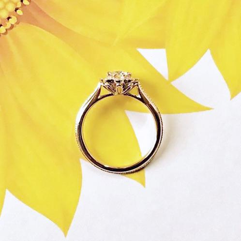 ひまわり_婚約指輪