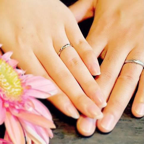 ひまわり_婚約指輪_結婚指輪5