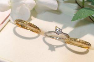 くまのプーさん_結婚指輪_婚約指輪