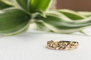指輪_出産記念