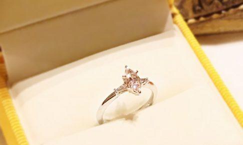 婚約指輪_マーキスカット2