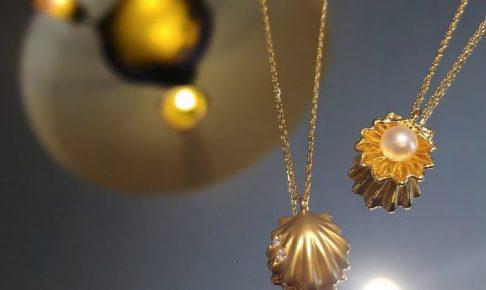 貝殻ネックレス2