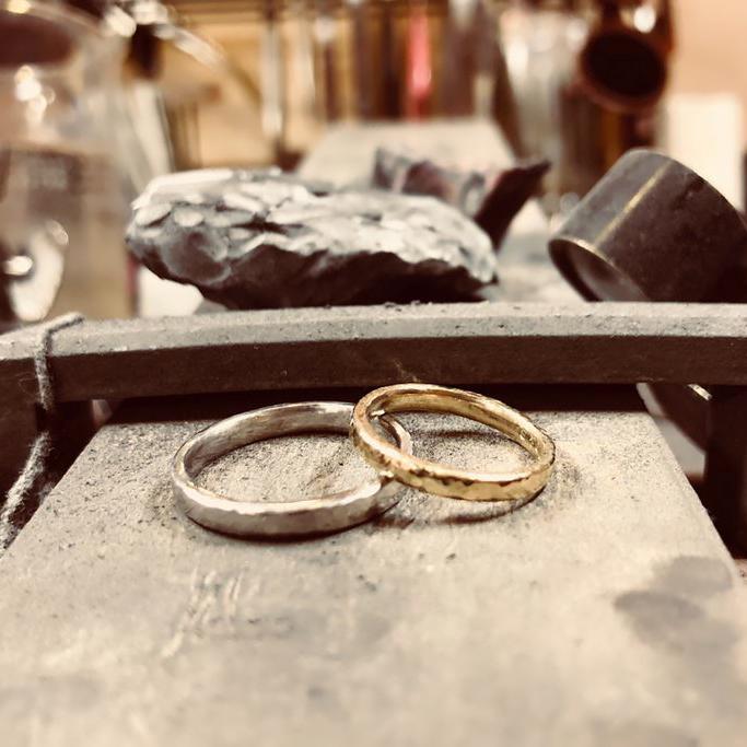 結婚指輪_ハンドメイド