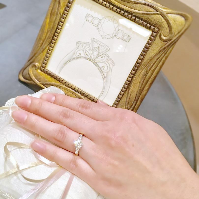 ケイウノ福岡_結婚指輪オーダー2