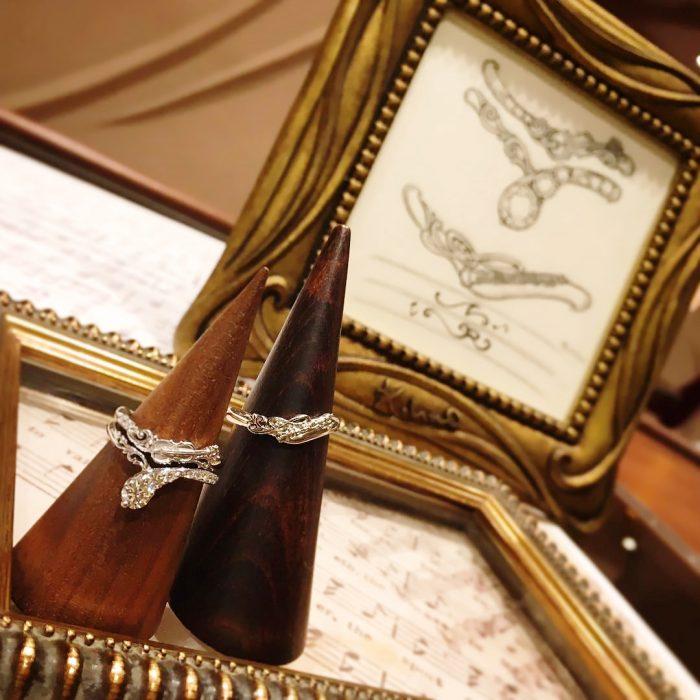 オーダーメイド婚約指輪_結婚指輪_楽器