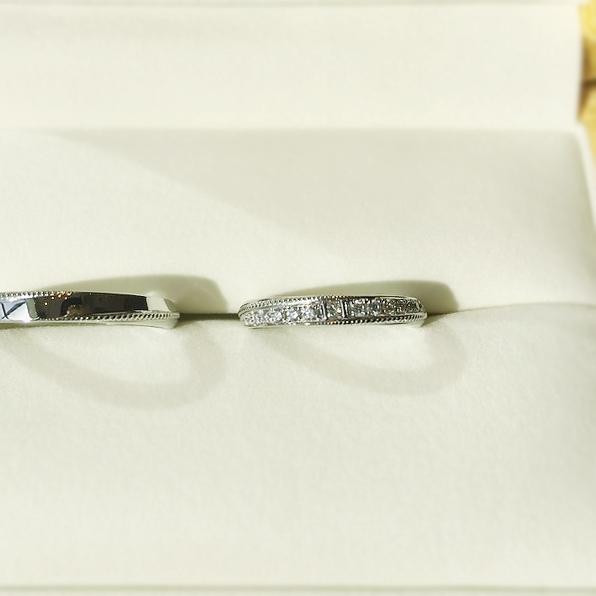 結婚指輪_オーダー_シンプル2