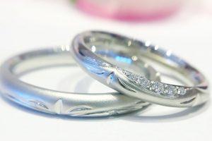 オーダー結婚指輪_梅1