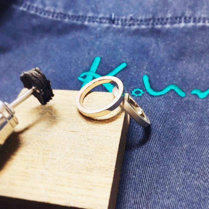 結婚指輪_手作り1