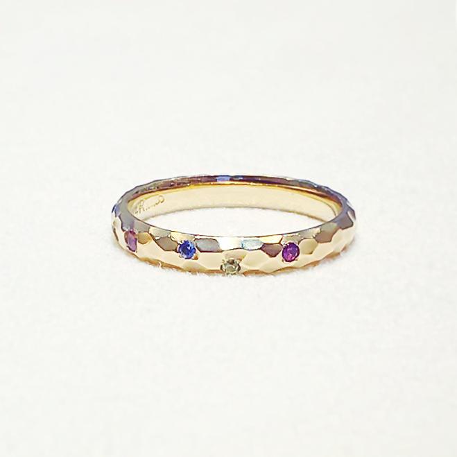 指輪_家族の誕生石-1