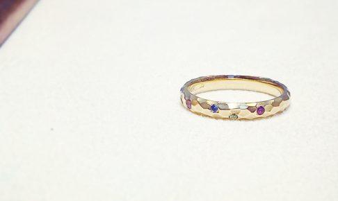 指輪_家族の誕生石-2