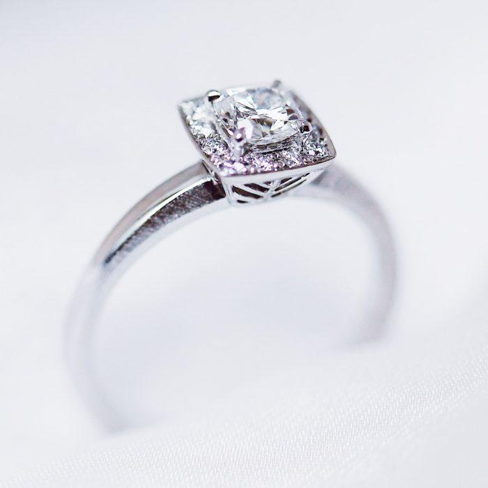 婚約指輪_オーダー_変形ダイヤ3