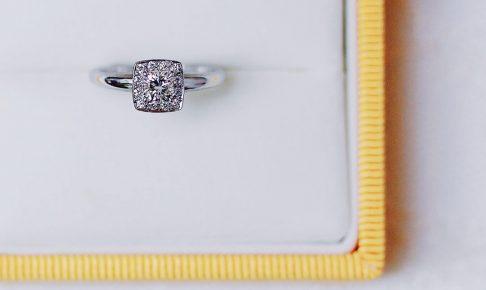 婚約指輪_オーダー_変形ダイヤ
