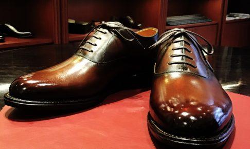 オーダー紳士靴_パティーヌ1