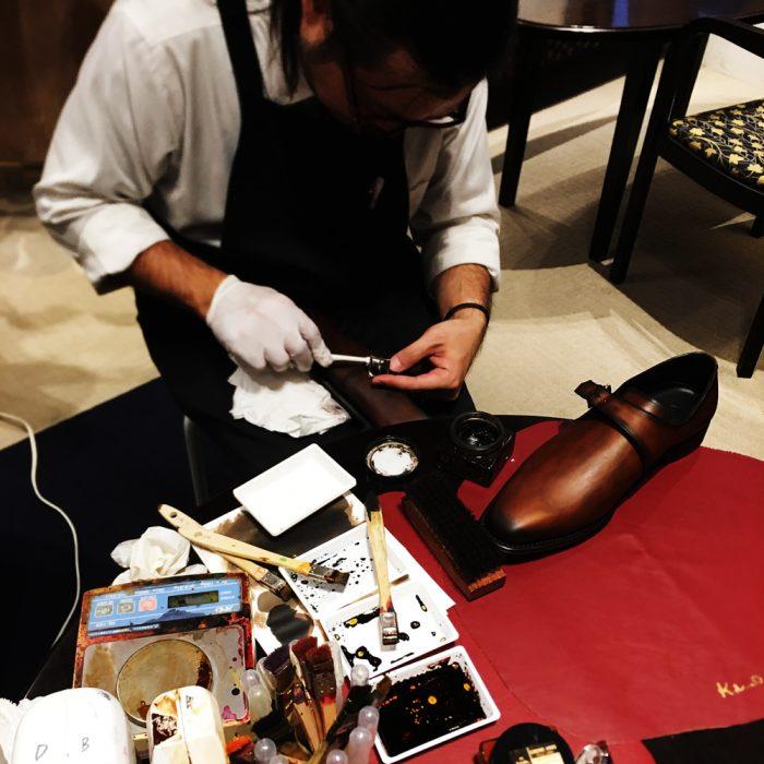 オーダー紳士靴_パティーヌ2