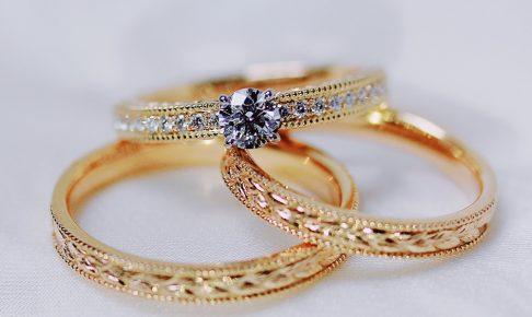 婚約指輪_結婚指輪_月桂樹セット