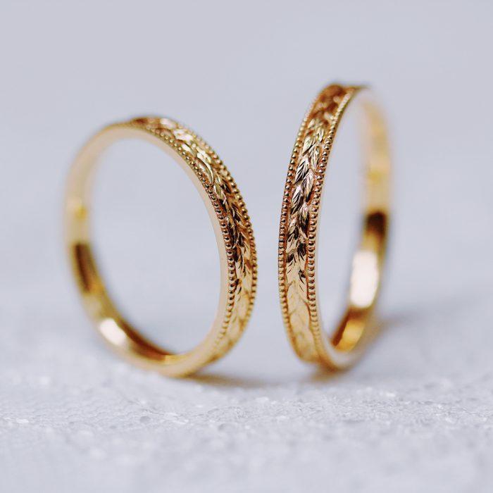 結婚指輪_月桂樹2