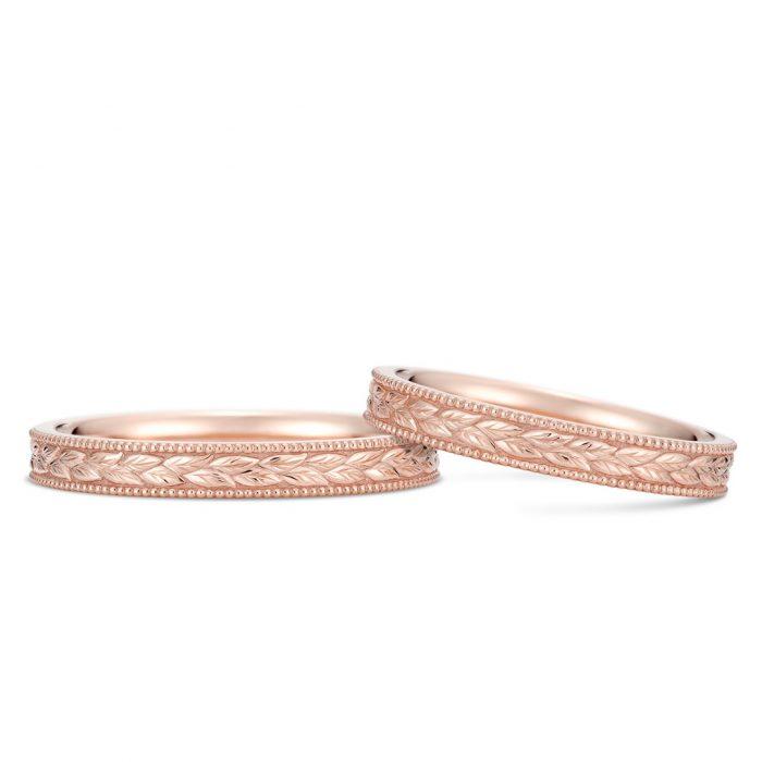 結婚指輪_ローズゴールド