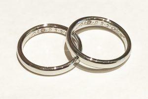 手作り結婚指輪_刻印1