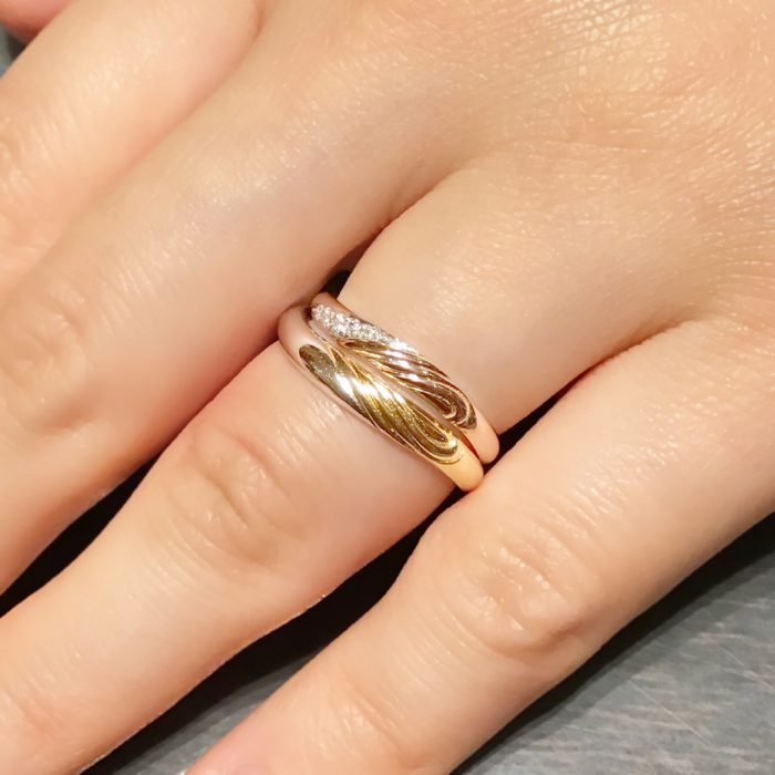 ケイウノ広島店_オーダーメイド結婚指輪2